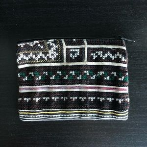 Aztec Embroidered Coin Purse
